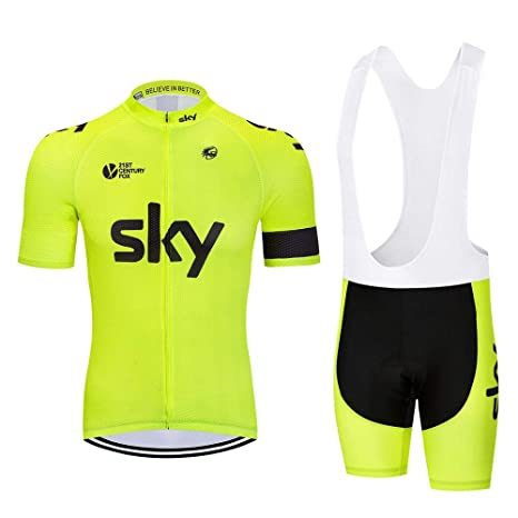 ZRKZ Trajes De Ciclismo para Hombre Ciclismo Jersey De Media ...