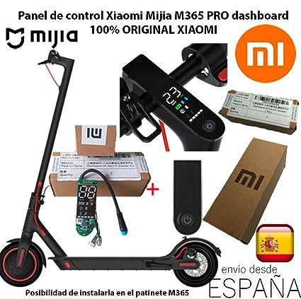 Xiaomi Pantalla Cubierta Placa Panel de Control Dashboard 100% Original Patinete Scooter M365 Pro Mijia + Tapa/Cover