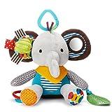 ING STYLE (イング スタイル) ベビー&キッズ なかよしアニマル 音が鳴る 仕掛けぬいぐるみ 知育 玩具 おもちゃ (ゾウ)