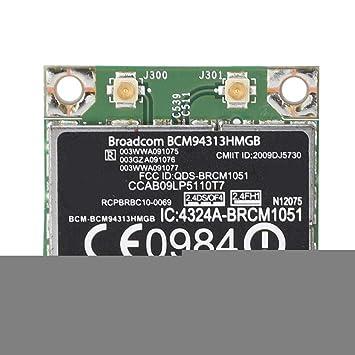 Wendry Tarjeta de Red inalámbrica, Broadcom BCM94313HMGB ...