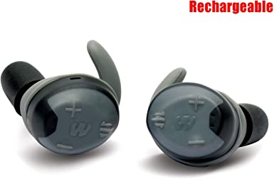 Silencer Bluetooth Hearing Protection Walkers Shooting Earbuds Tan