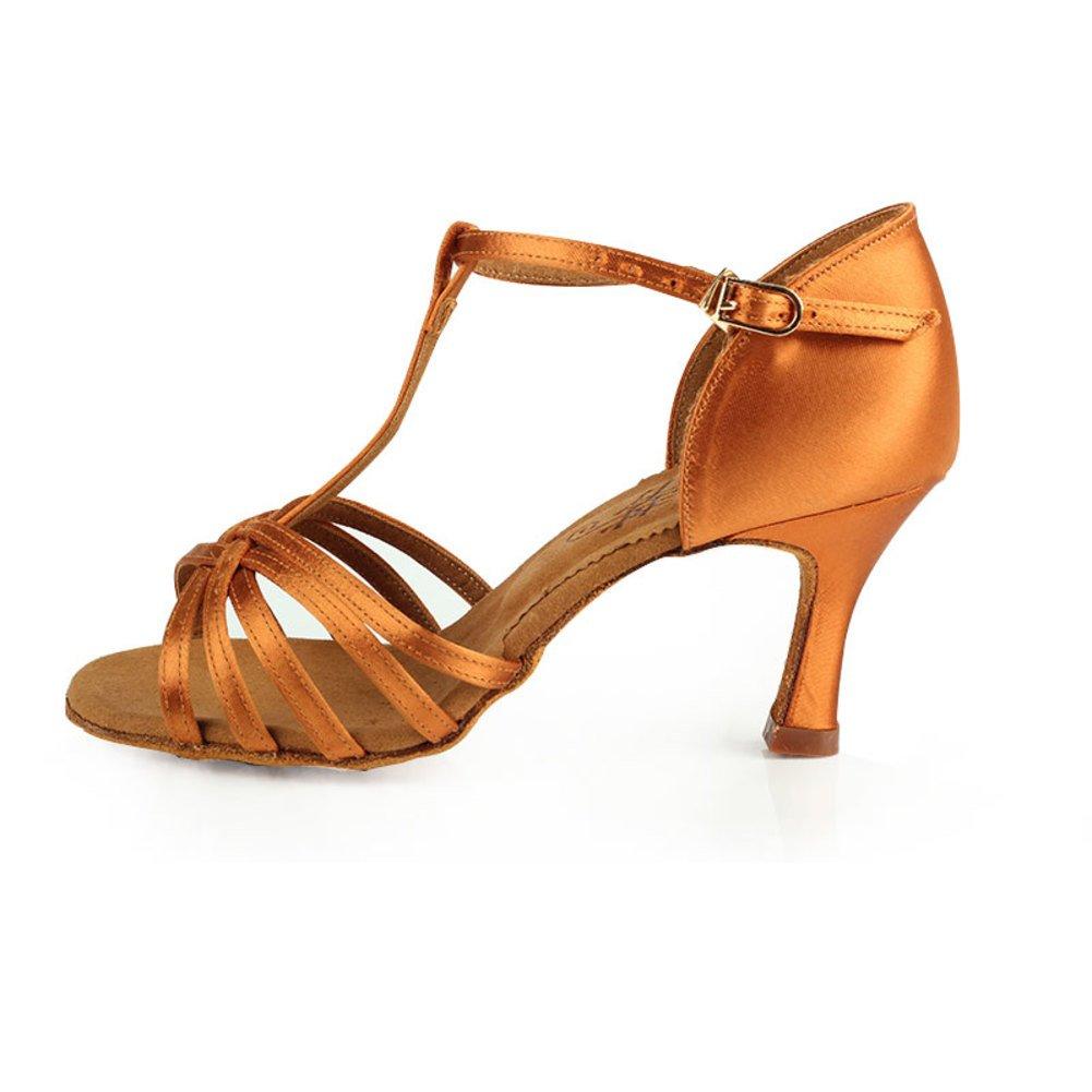 GUOSHIJITUAN Damen Latein Tanzschuhe Ballsaal Damenschuhe Ballroom Dance Schuhe Heels Tanzen Latein Salsa Schuhe