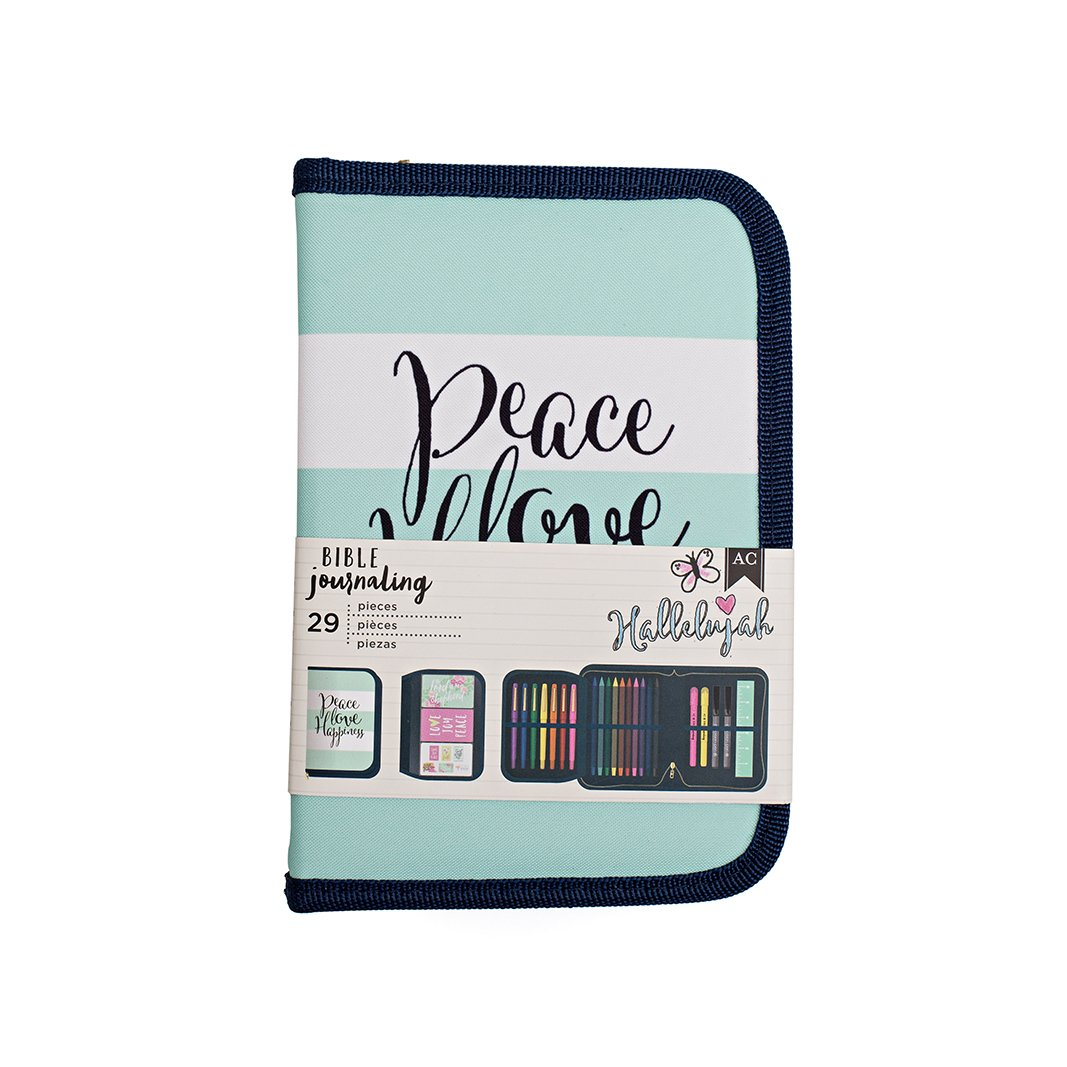 American Crafts Bible Journaling Pen Pouch 5.5