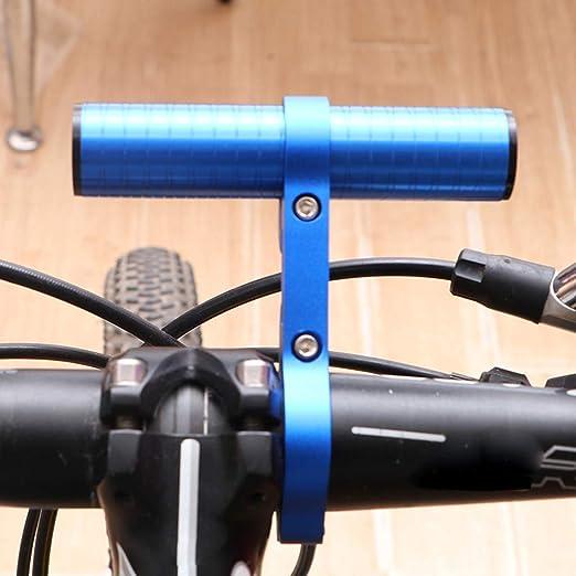 Bicycle Handle Bar Extension Bracket MTB Bike Headlight GPS Extender Holder US