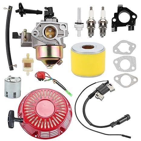 Amazon.com: Wellsking 16100-ZE3-V01 Carburador con 17210-ZE3 ...