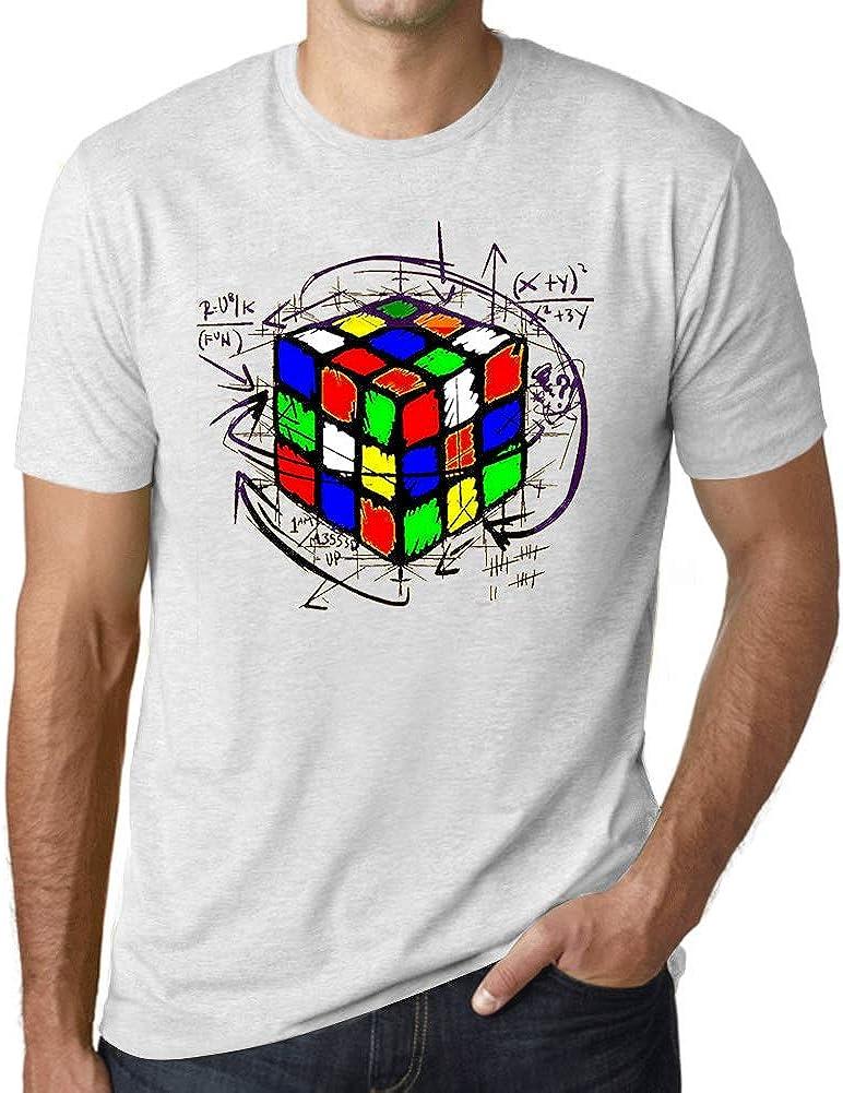 Ultrabasic - Unisex Cubo de Rubik Camiseta Rubikcube Magic T-Shirt
