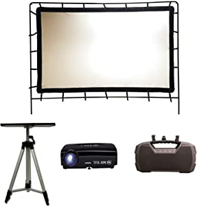 Total HomeFX Outdoor Standard Projection Theatre Kit, HDMI and Bluetooth Capable