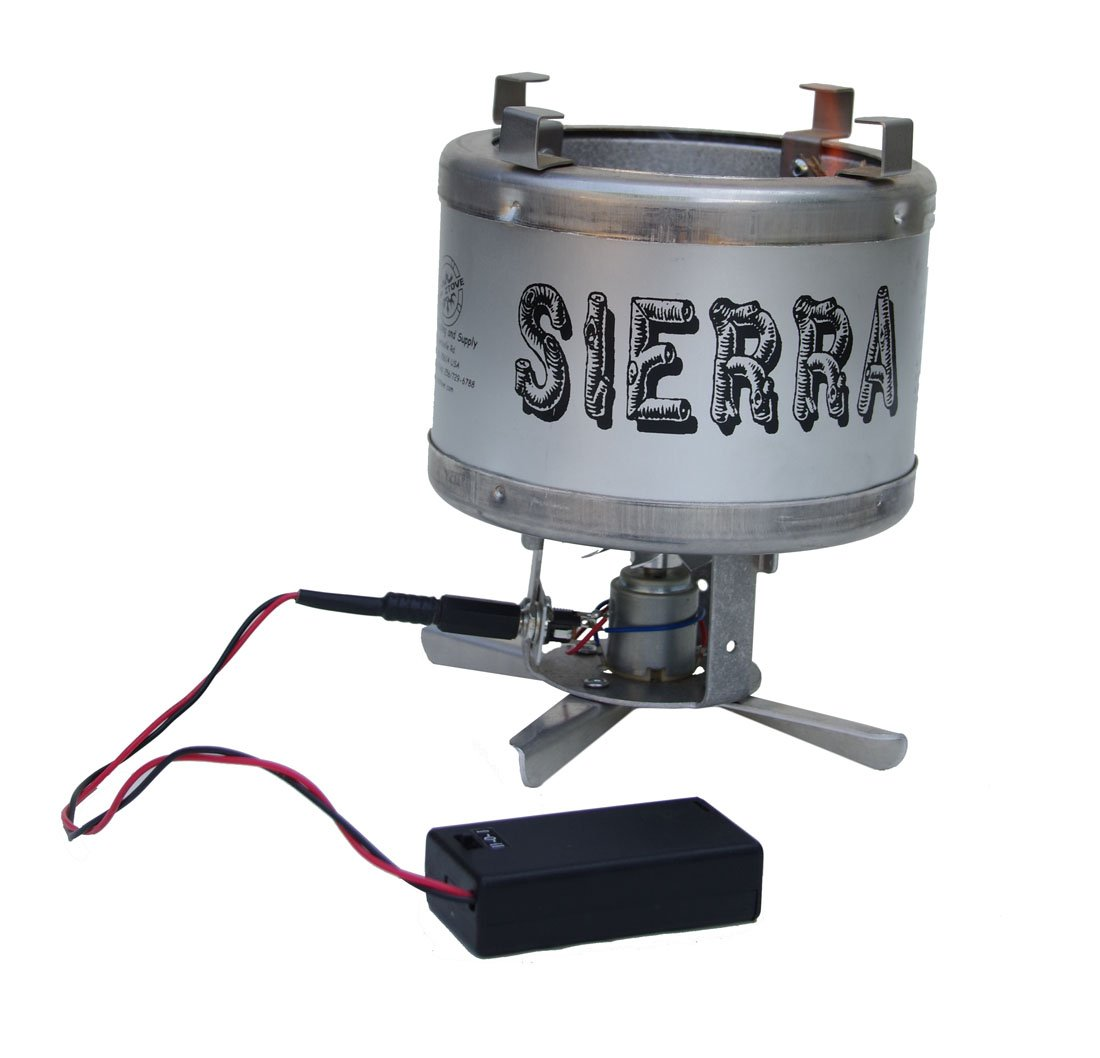 Sierra Stove – wood burning backpacking camp stove