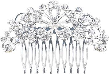 NUOVO capelli aghi sposa fiore perla Matrimonio Gioielli per Capelli