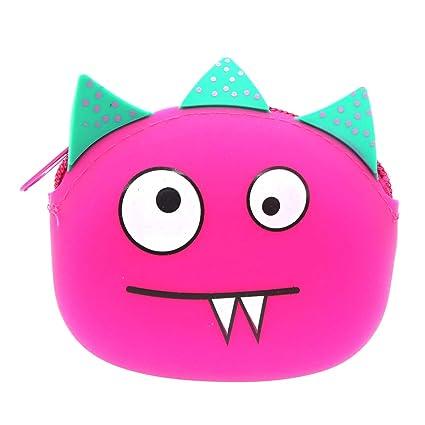 BLENDX Kawaii Cartoon Animal Little Cute Monedero de Gel de ...