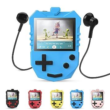 APGTEK 8 GB Kinder MP3 Player mit 1,8 TFT: Amazon.de: Elektronik