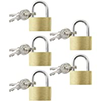 COM-FOUR® Padlock in Different Designs and Sizes for Household, Work or on The go