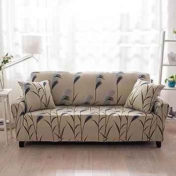 amazon com lingjun sofa lounge covers brushed floral print 1 2 3 4 rh amazon com Only Floral Print Sofa Floral Sofas Manufacturers