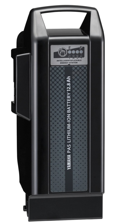 ヤマハ純正品 13年~モデル対応 12.8Ah 急速充電対応リチウムイオンバッテリー ブラック X91-00 ヤマハPAS専用【X91-82110-20-teito】   B019RO5NLK