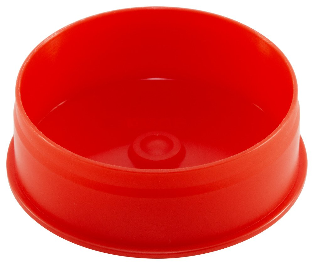 Caplugs QPVCP800AQ1 Plastic Pipe Plug. Pipe OD 8.59'' Pipe ID 8.22'' PVCP-8, PP, Pipe Od 8.59'' Pipe ID 8.22'', Red (Pack of 20)