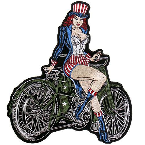 (Motorcycle Biker Uniform Back Patch 10