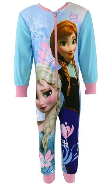 Disney - Pijama de una pieza - para niña rosa Frozen 5-6 Años