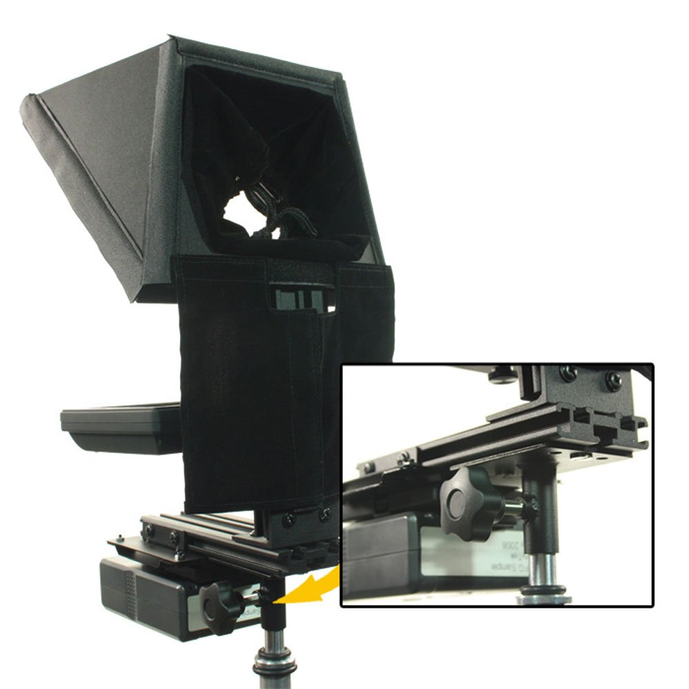Ikan TP-SA Teleprompter Stand Adapter (Black) by Ikan (Image #2)