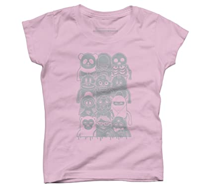 d71988108 Famous Characters Girl's X-Small Pink Youth Graphic T Shirt - Design By  Humans