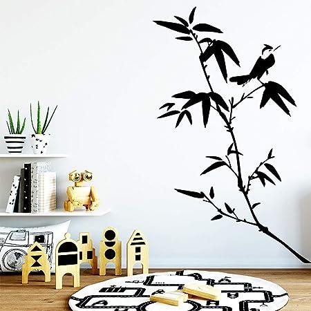 Ajcwhml Habitación del bebé Pegatinas de bambú Divertidas ...
