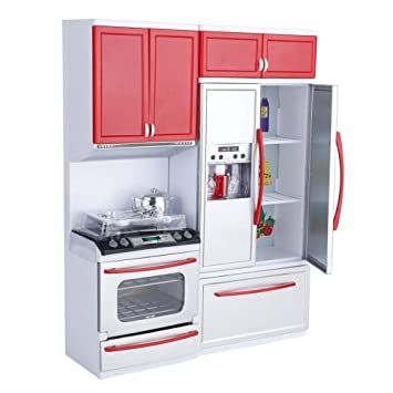 Hakeeta Modern Plastic Plastic Play Kitchen, Mini Kitchen ...