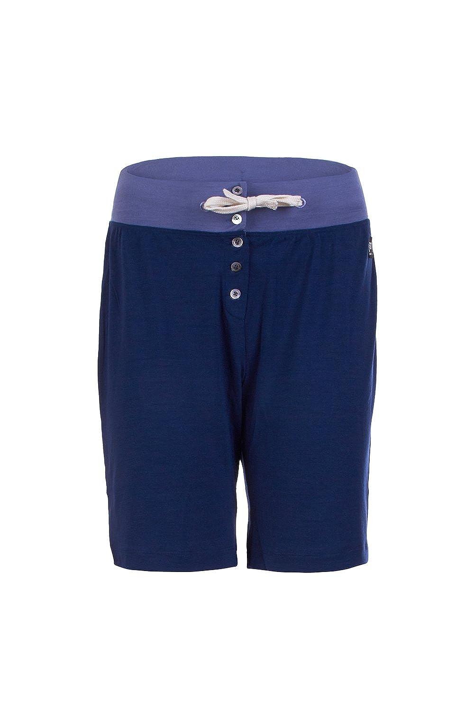 TALLA 38/40. super natural W Water Frontal Bermuda Merino Pantalones Cortos