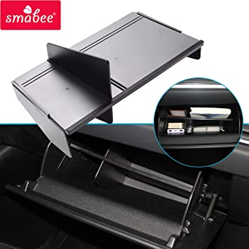 Cosilee Car Center Console Armrest Glove Box Secondary Storage Tray For Mazda CX-5 2017 2018