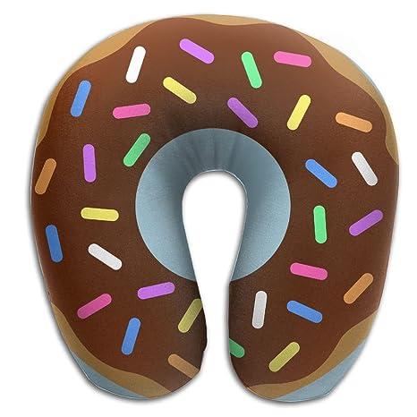 Amazon.com: Multifuncional almohada cervical Donut en forma ...