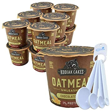 Amazon.com Kodiak Cakes Instant Oatmeal Cups, Whole Grains
