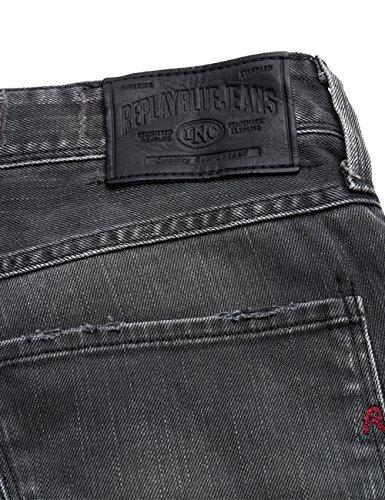 Denim REPLAY para Vaqueros Hombre 9 Grey Pantalones Gris Delgados Anbass Uwq8IrU