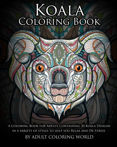 Koala Coloring Book Containing Stress product image
