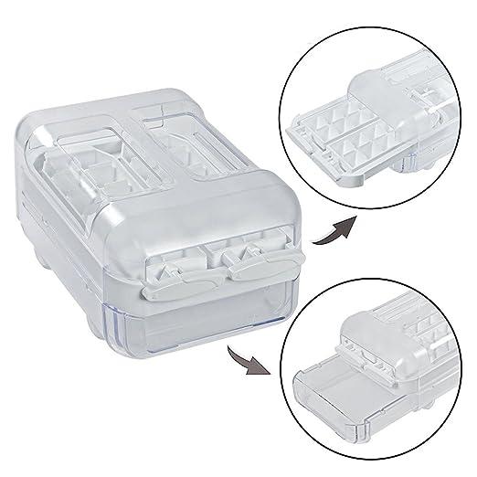Spares2go Cubito de hielo bandeja caja dispensadora para ...