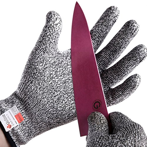Tools & Hardware : Cut Resistant Gloves, Food Grade Kevlar Safety gloves, Level 5 Protection Working Cut Proof Gloves