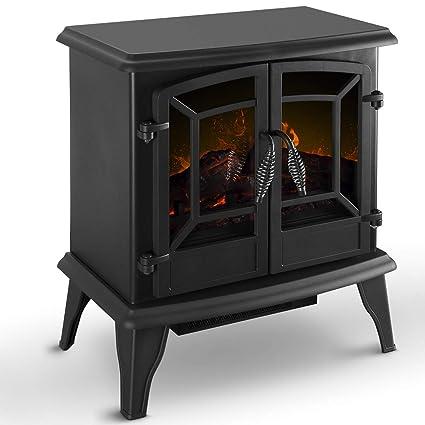 Amazon Com Della 20 Freestanding Portable Electric Fireplace