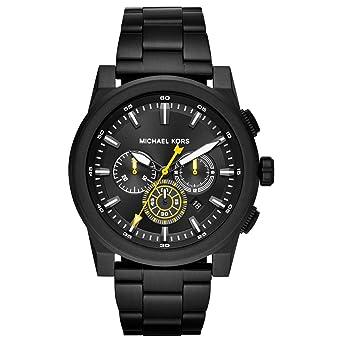9c60aca7b830 Michael Kors Reloj Analogico para Hombre de Cuarzo con Correa en Acero  Inoxidable MK8600  Amazon.es  Relojes