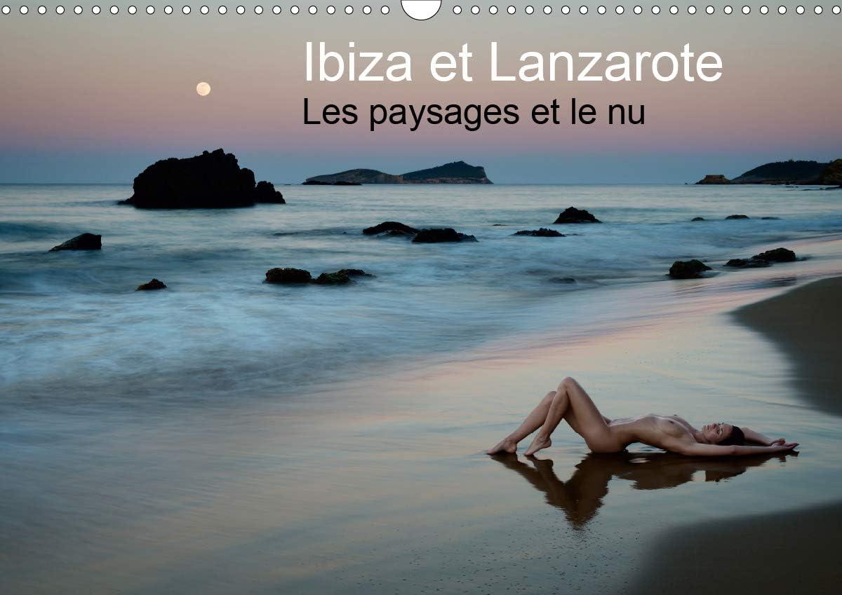 Ibiza et Lanzarote, les paysages et le nu : Photos érotique au bord de la mer