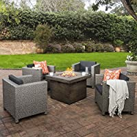 Patagonia Outdoor 5 Pc Wicker Club Chair...