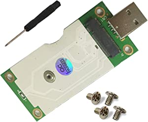 HLT NGFF(M.2) to USB Adapter with SIM Card Slot for WWAN/LTE/4G Module