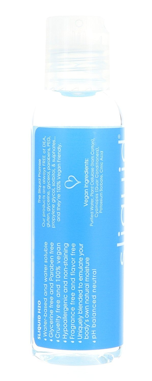 Set Sliquid H2O Naturals Intimate Lubricant 4.2 FL Plus 2 FL Travel Size by Sliquid (Image #1)