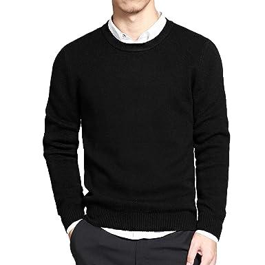 71fb14cd854 Amazon.com: KEBINAI novelty-sweaters 2018 Spring New Cotton O Neck ...