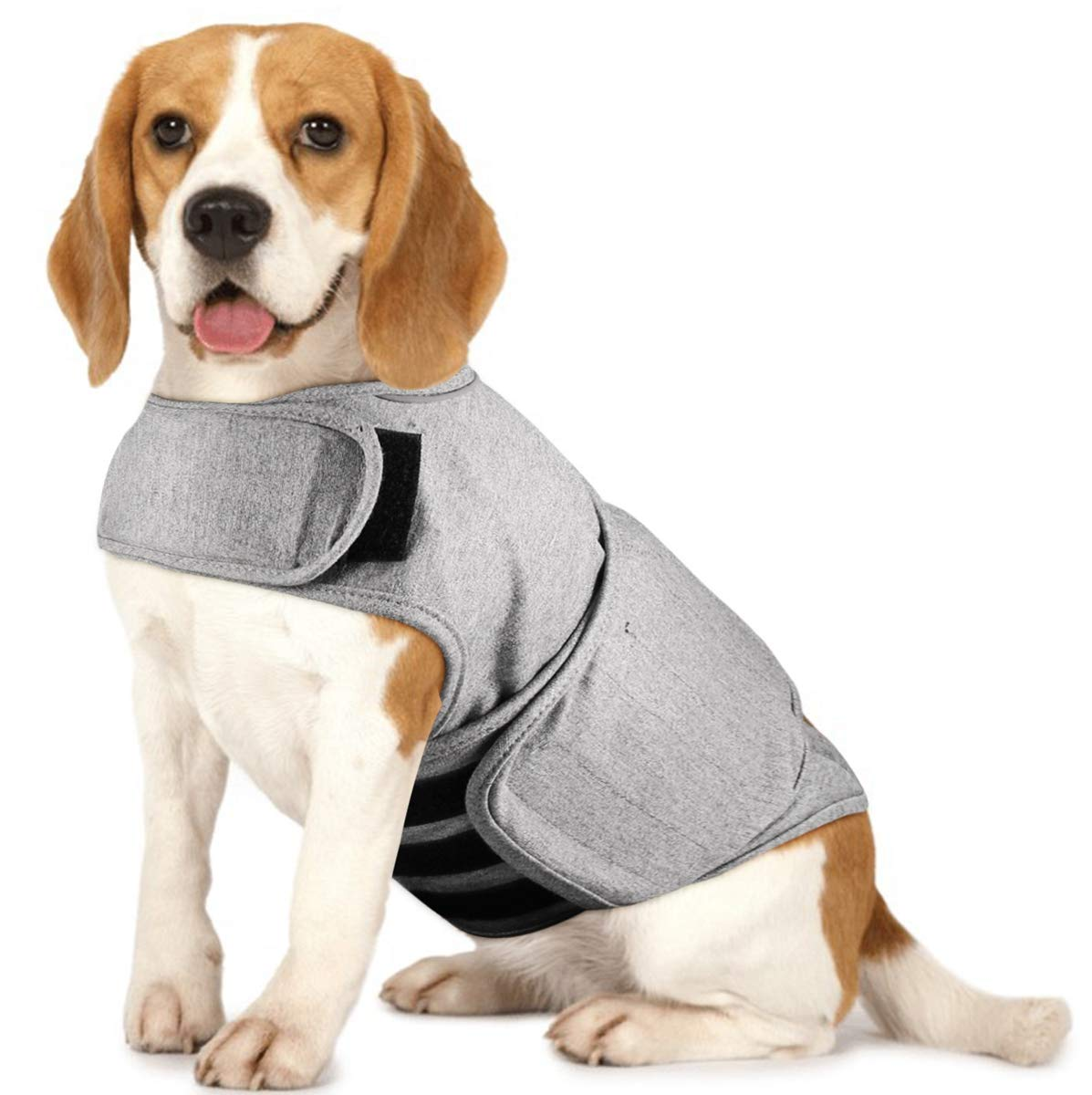 Royal Wise Dog Thunder Jacket Comfort Anti Anxiety Stress Relief Calming Wrap Vest Separation Coat Shirt (Small-XLarge) by royalwise
