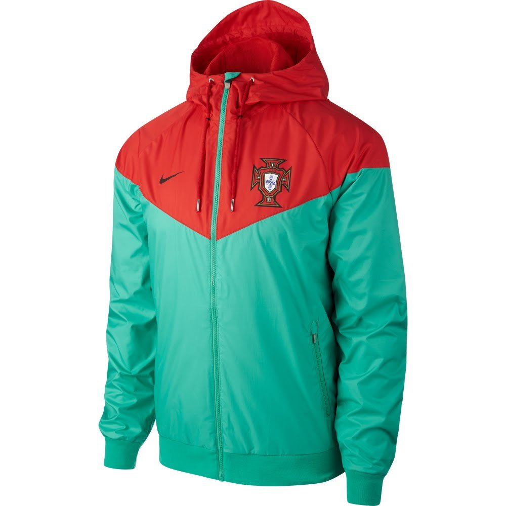 Nike 2018-2019 Portugal Authentic Woven Windrunner Jacket (Grün)