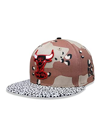 BONE 5950 CHICAGO BULLS NBA ABA RETA BEGE NEW ERA  Amazon.com.br ... 906fc680cc3