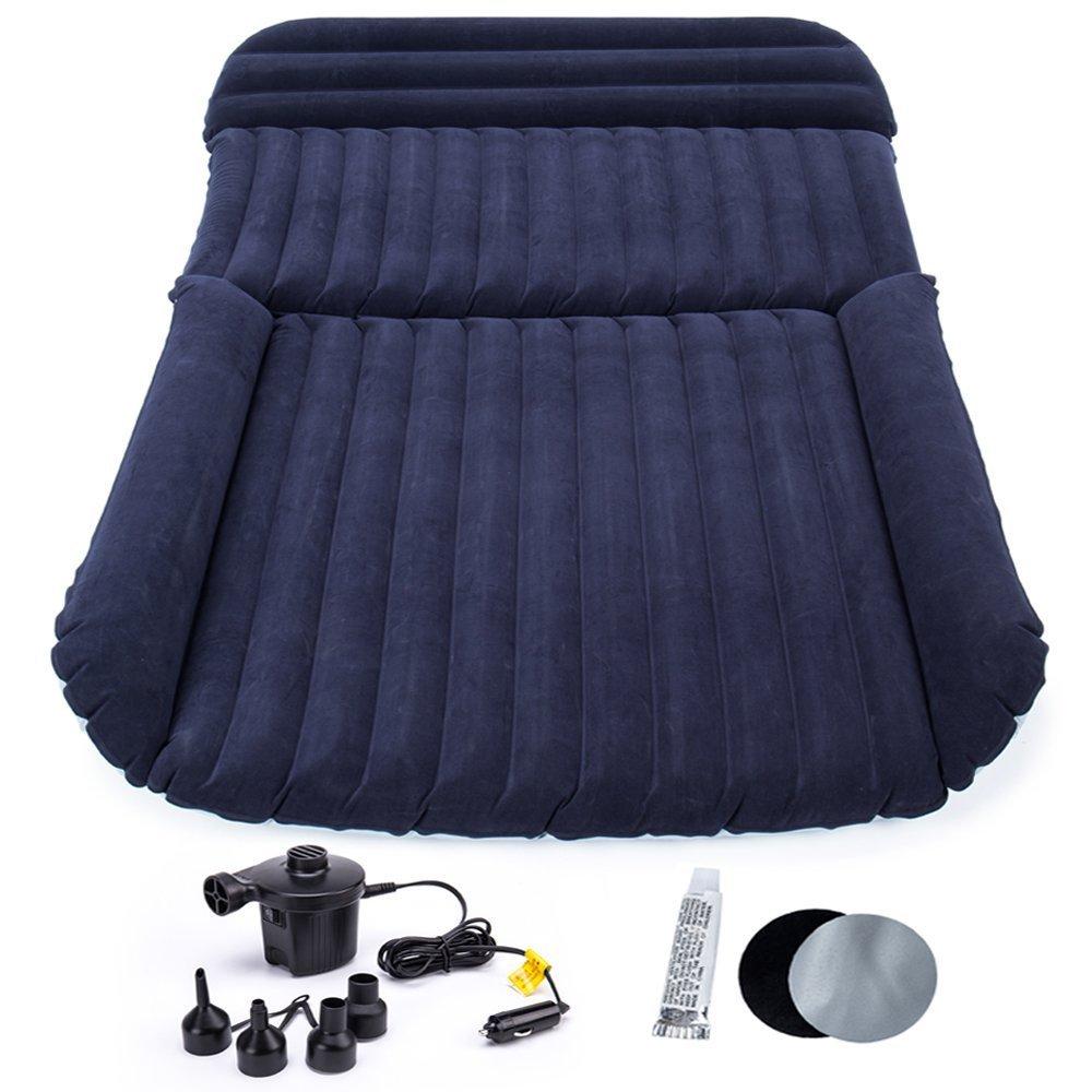 FMS Auto aufblasbare Luftmatratze SUV Luftmatratze Passend für SUV/MVP/Limousinen, Auto-Matratze Bett for Reisen,usw.