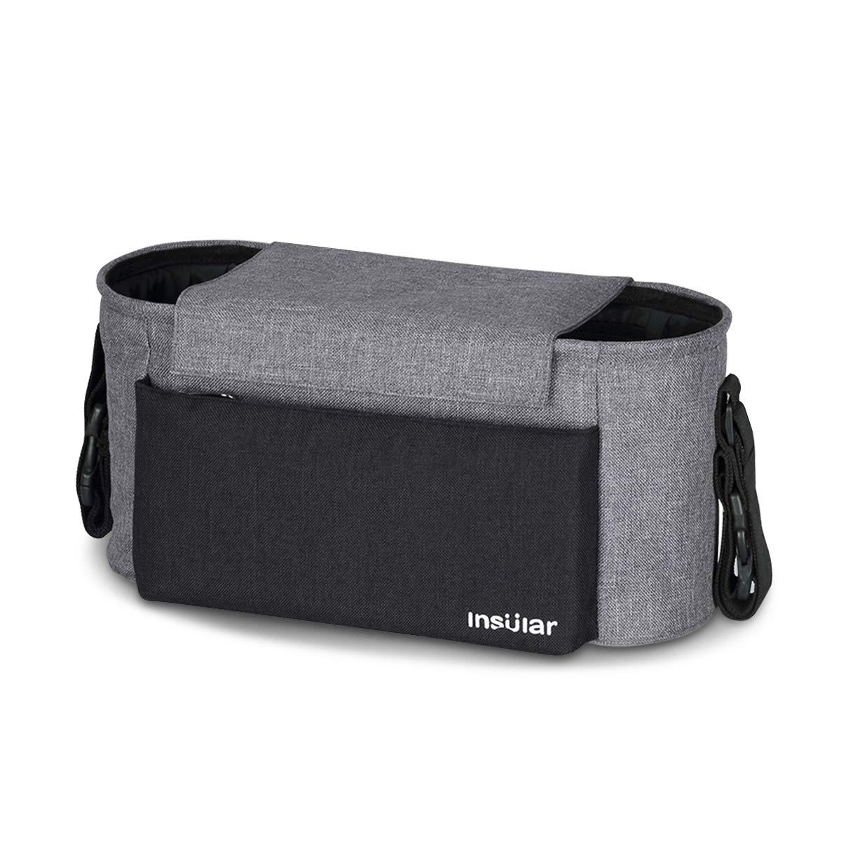 SONARIN Waterproof Bolsa Organizadora para Cochecito de Bebé Changing Bag,Bolso de mano,Capacidad Grande para el iPhone, pañales y accesorios,100% GARANTIZADO y ENTREGA GRATUITA, Ideal Regalo(Azul)