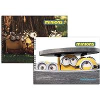 Minions 35x50 15 Yaprak Spiralli Resim Defteri (300315-68)