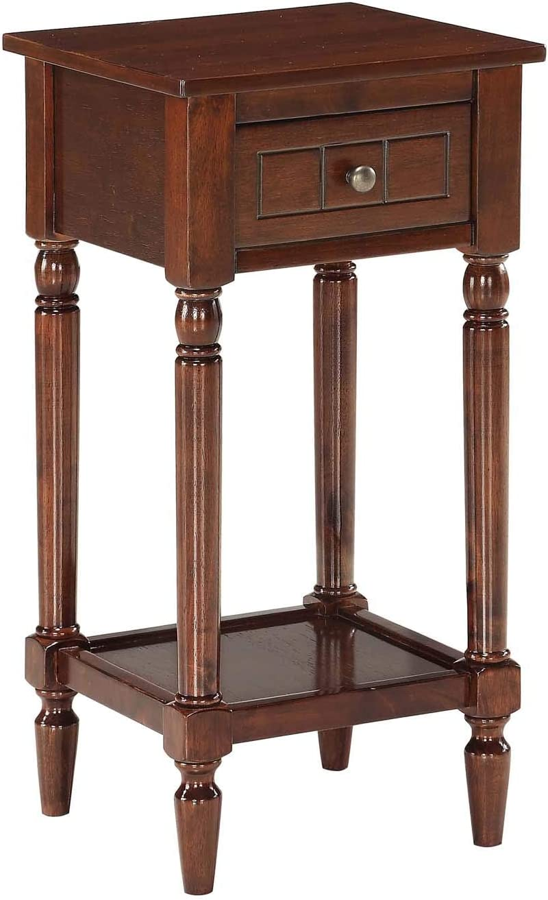 Convenience Concepts French Country Khloe Accent Table, Espresso