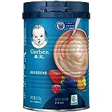 嘉宝 Gerber  缤纷水果2段  6-36个月较大婴儿和幼儿营养米粉 225g 罐装 (新老包装随机发货)