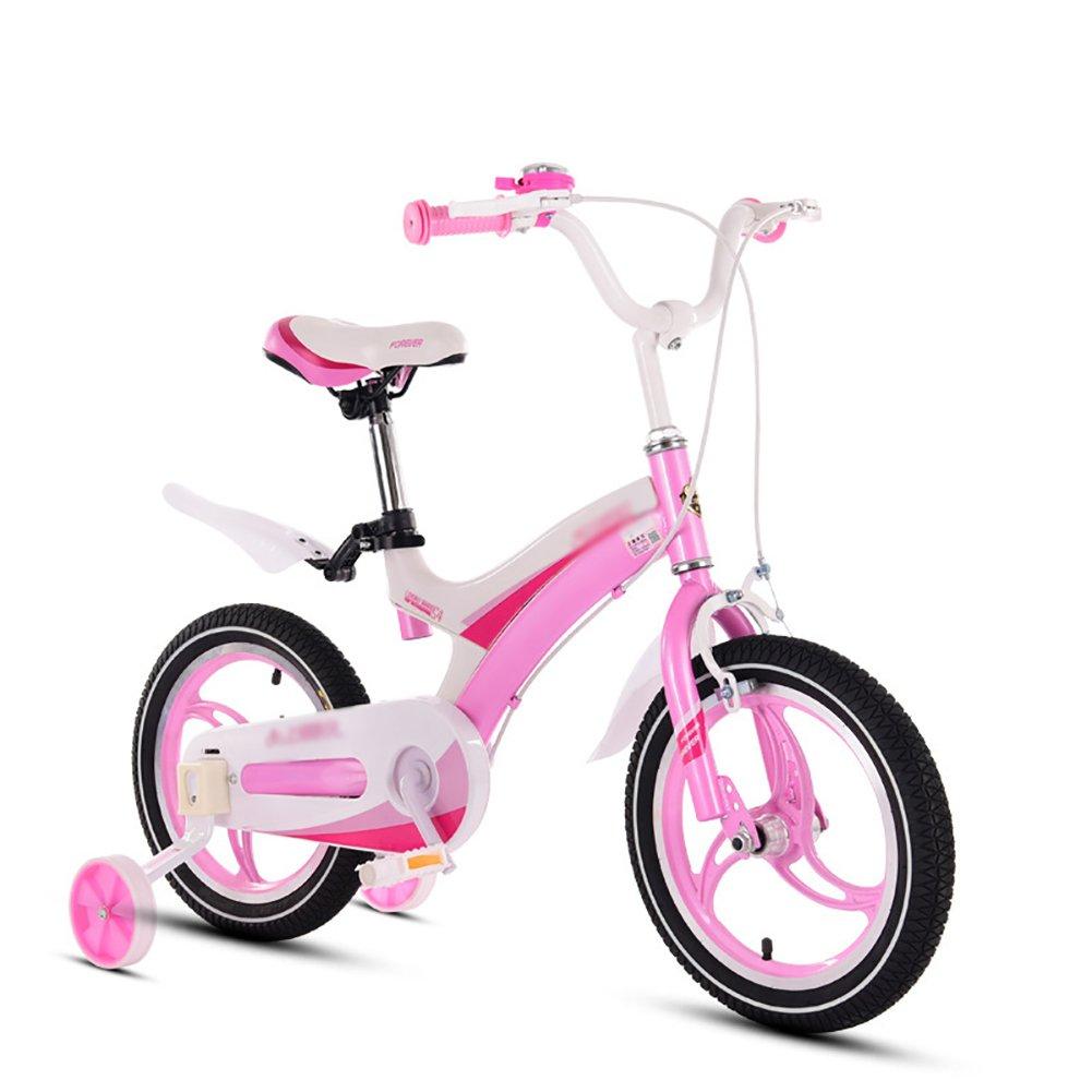 赤ちゃん少年少女自転車赤ちゃん自転車赤ちゃん自転車3歳から10歳12 14 16 18インチ青黄色赤ピンク B07DVVGDWY 16 inch|ピンク ぴんく ピンク ぴんく 16 inch