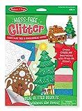Melissa & Doug Mess-Free Glitter Christmas Tree and Gingerbread House